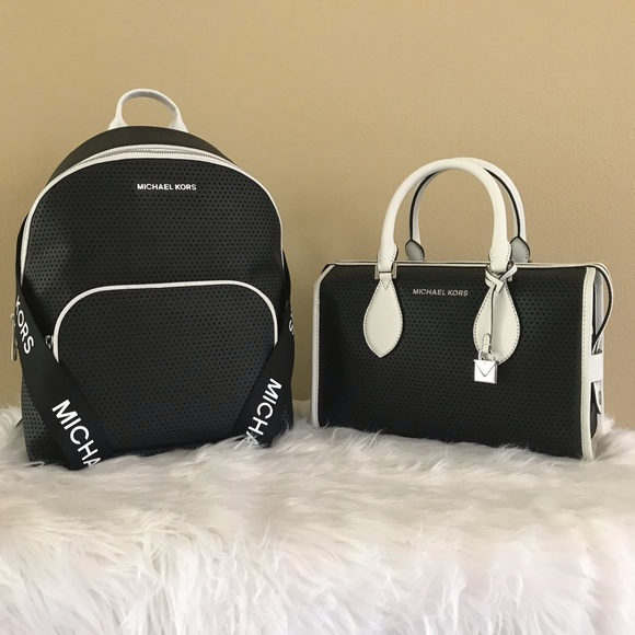 62804c783150 Michael Kors Bags | Lacey Backpack Duffle Bag Set | Poshmark